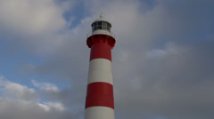Time lapse from The Moore Point Lighthouse at Geraldton Stock Footage