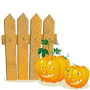 Stock Illustration of Pumpkins