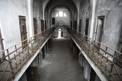 Abandoned prison Stock Photos
