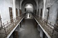 Stock Photo of abandoned prison