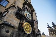 Stock Photo of prague astronomical clock tower