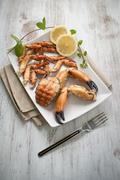 Crab claw Stock Photos