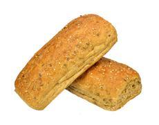 multigrain rolls - stock photo