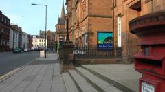 Scottish Street Post Box Arkistovideo