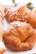 brioches for sweet awakening - stock photo