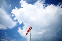 wind vane - stock photo