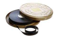 Stock Photo of film reel