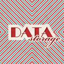 Stock Illustration of Data Storage Concept on Striped Background.