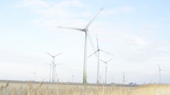 Windpark Stock Footage