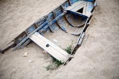 Hylätty vene Kuvituskuvat