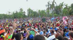 Carnival, Street Parade, Rio de Janeiro 2014 Stock Footage