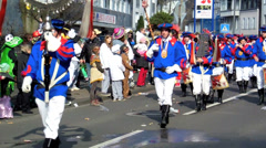 Street Carnival 2014 in Cologne Stock Footage