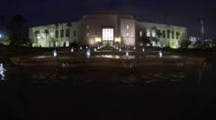 Santa monica city hall Stock Footage