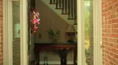 Paranoid home owner shot gun angry father Stock Footage