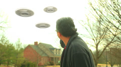 Stock Video Footage of UFO alien invasion invaders