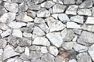 Stock Photo of stone wall texture.