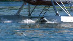 DeHavilland Otter on Floats Stock Footage