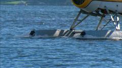 DeHavilland Beaver on Floats Stock Footage