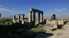 Ancient city of Hierapolis 3 Stock Footage