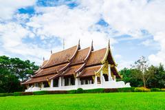 Temple thailand, mae fah luang Stock Photos
