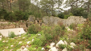 Stock Video Footage of ancient city of Olympos 2