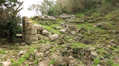 Ancient city of Olympos 8 Stock Footage