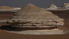 4 clips of the White Desert, Egypt Stock Footage