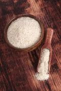 psyllium. - stock photo