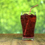 Iced cola Stock Illustration