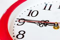Kellon ja aikaleima numerot Kuvituskuvat