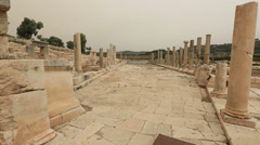 Ancient city of Patara 4 Stock Footage