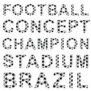 Jalkapallo tyyli sanoja Piirros