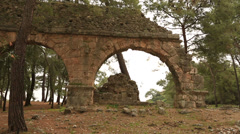 Ancient city of Phaselis 13 Stock Footage