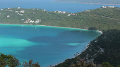 Stock Video Footage of St Thomas Magens Bay Beach USVI HD 0858