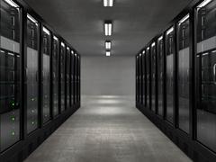 Servers Stock Illustration
