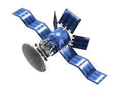 satellite - stock illustration