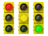 Stock Illustration of traffic light