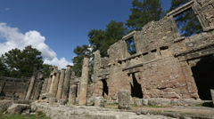 Ancient city of Seleucia (Lybre) 4 time lapse Stock Footage