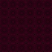 beautiful burgundy pattern - stock illustration