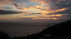 Brazilian home wind turbine with sunrise 2 Stock Footage