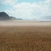 desert landscape - stock illustration