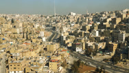 Stock Video Footage of Amman city Downtown, Jordan, Middle East