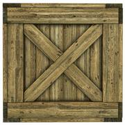 Wood crate Stock Illustration