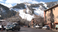 Aspen Colorado - stock footage
