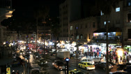 Amman night city view Downtown, Jordan, Middle East Stock Footage