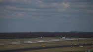 Stock Video Footage of lufthansa airbus a319-114 jet airplane d-ailm taking off dusseldorf airport.