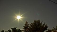 Night sky full of stars - 4K Ultra HD time lapse Stock Footage
