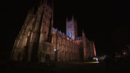 Stock Video Footage of Canterbury cathedral big wide