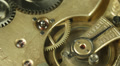 Clock Mechanism Rush Hour Seconds Accuracy Mechanism Old Vintage Watch Countdown Footage