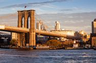 Stock Photo of Brooklyn Bridge, New York City